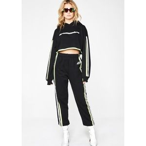 I.AM.GIA MERCURY REFLECTIVE HOODIE & PANTS SET